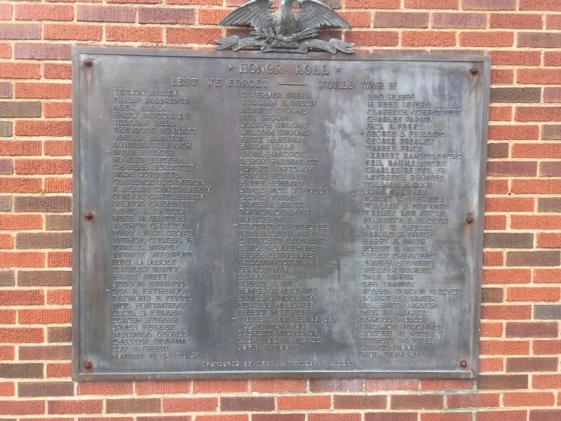 Galena Ohio War Memorial image. Click for full size.