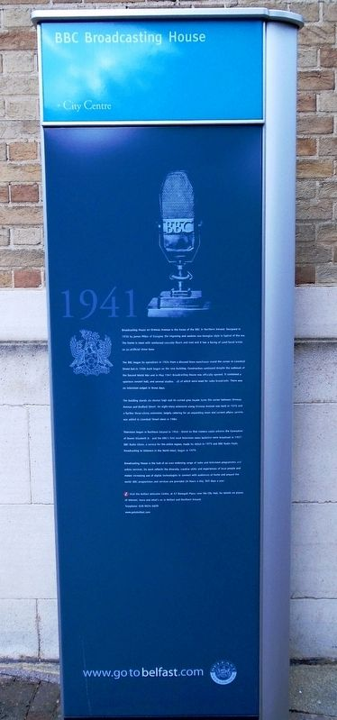 BBC Broadcasting House Marker image. Click for full size.