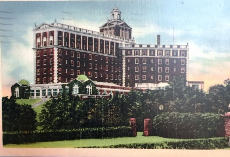 The Cavalier Hotel Postcard circa early 1930's image. Click for full size.
