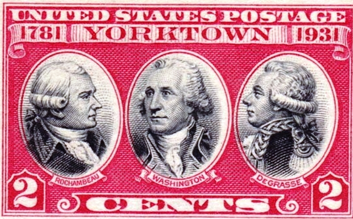 Three Commanders Postage Stamp