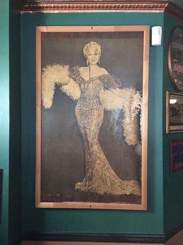 Photo of Mae West in Neir's Tavern image. Click for full size.
