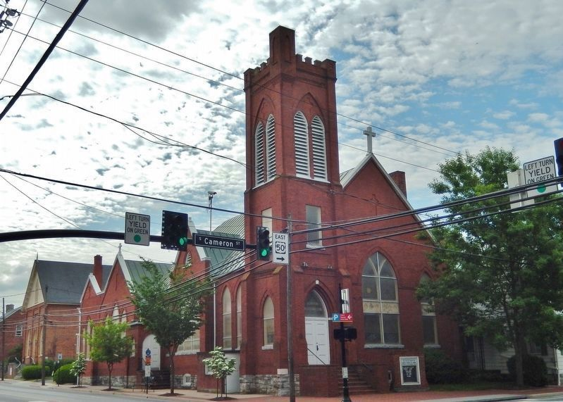 Centenary Reformed Church<br>(<i>northwest corner view • from South Cameron Street</i>) image. Click for full size.