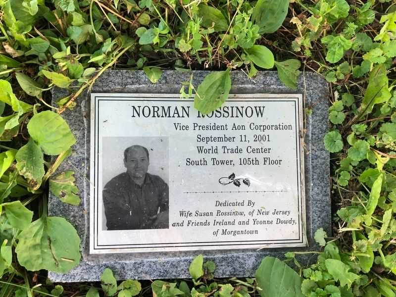 Norman Rossinow Marker image. Click for full size.