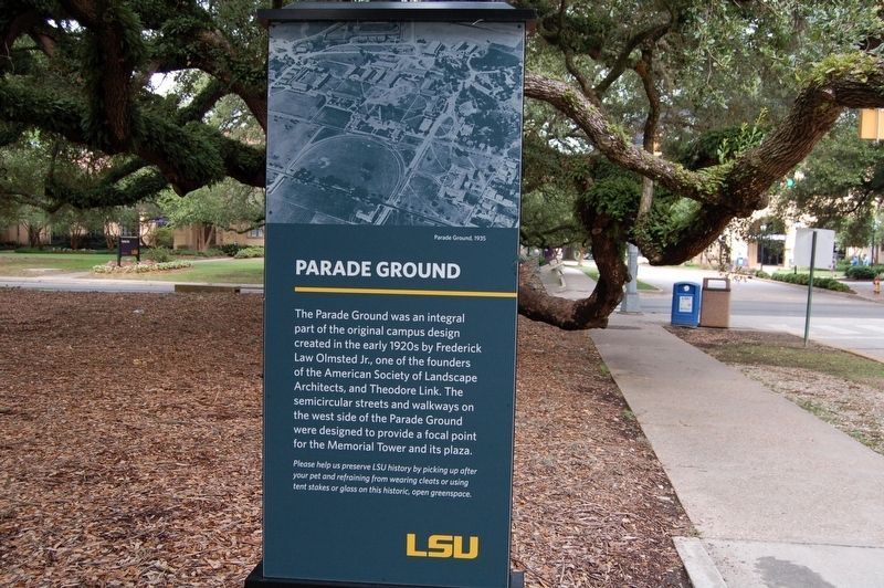 Parade Ground Marker image. Click for full size.