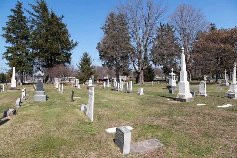 An Early Spring View of Evergreen Cemetery image. Click for full size.