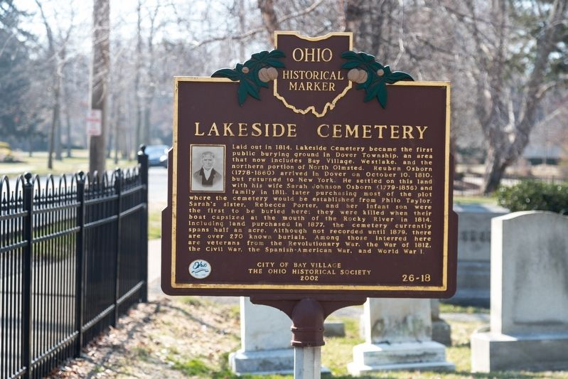 Lakeside Cemetery Marker image. Click for full size.