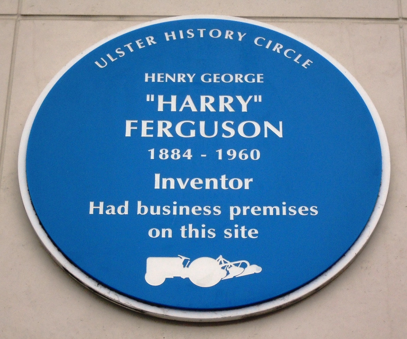 "Henry George ""Harry"" Ferguson Marker"