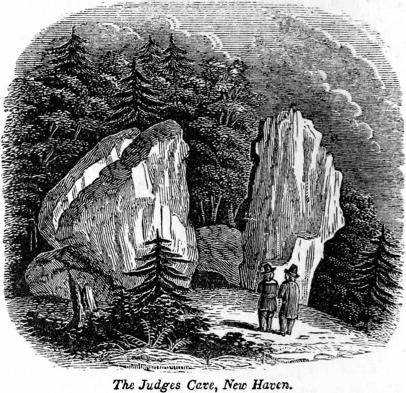 The Judges Cave, New Haven image. Click for full size.