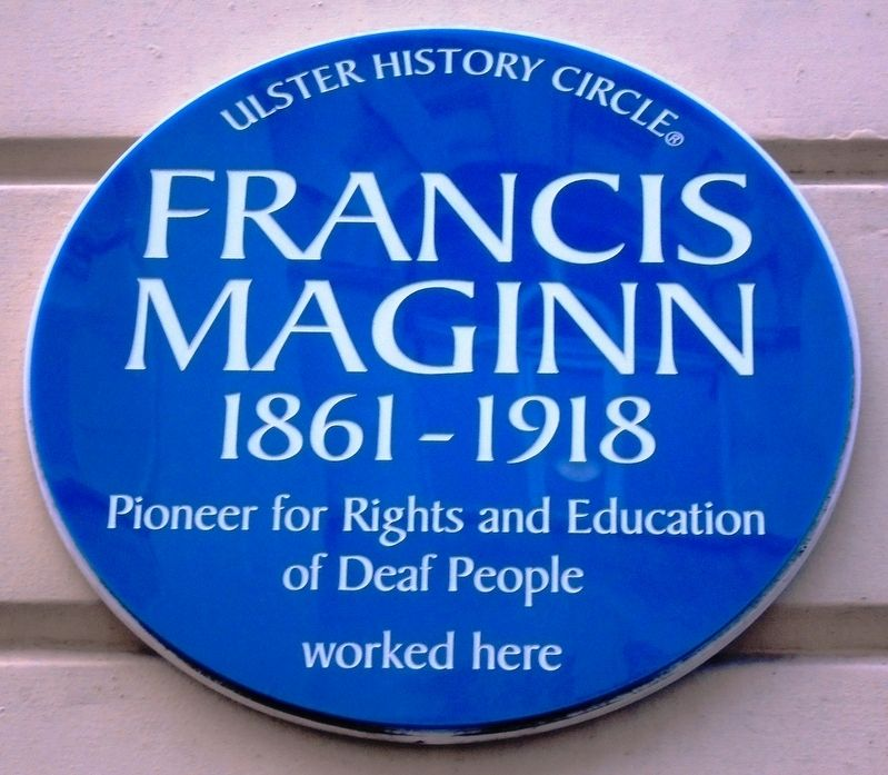Francis Maginn Marker image. Click for full size.