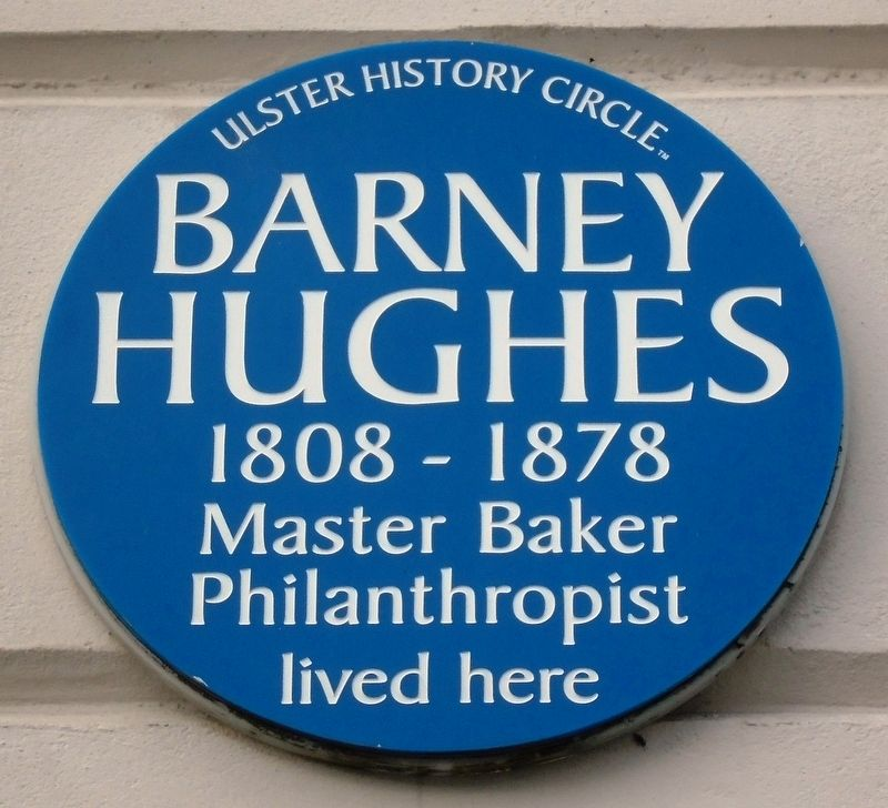 Barney Hughes Marker image. Click for full size.