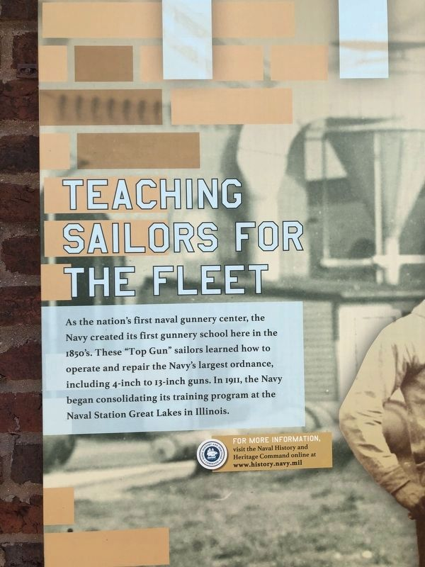Teaching Sailors for the Fleet Marker image. Click for full size.