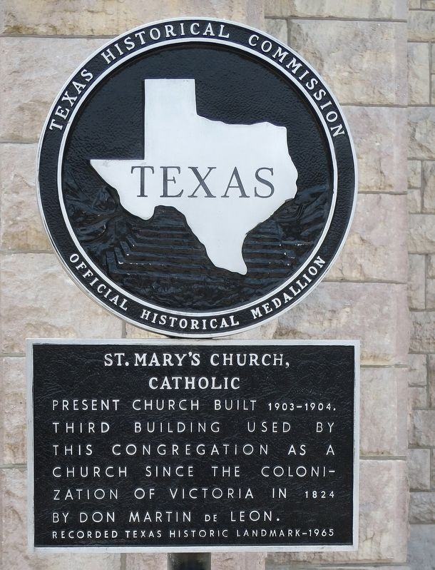 St Mary's Church, Catholic Marker image. Click for full size.
