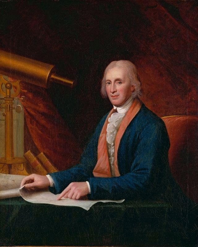 David Rittenhouse (1732-1796) image. Click for full size.