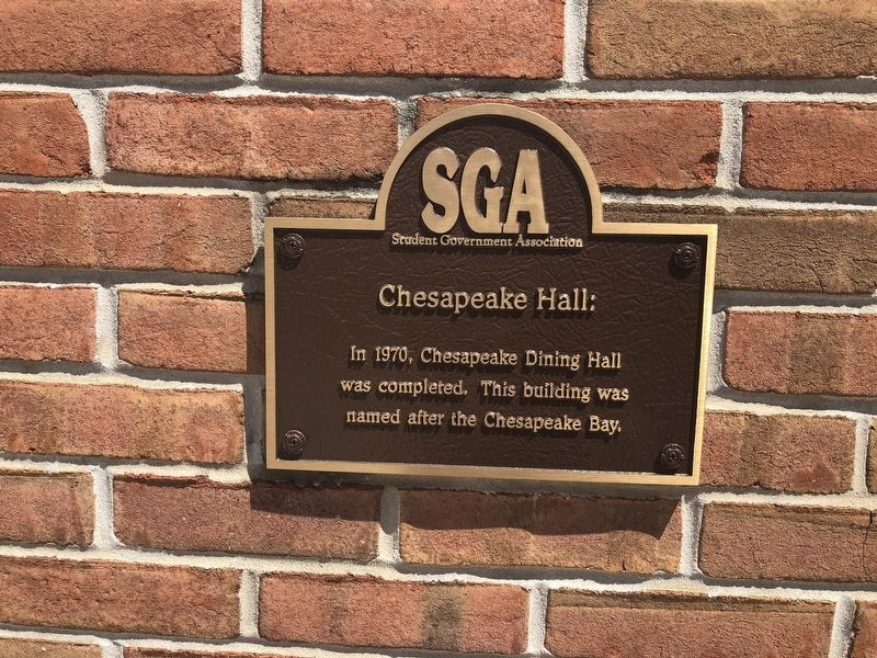 Chesapeake Hall Marker image. Click for full size.
