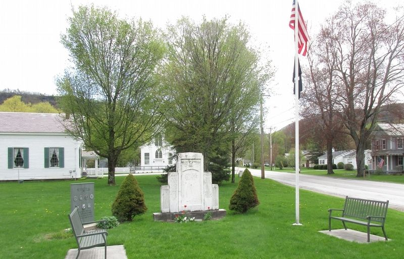 Wells Veterans Memorial image. Click for full size.