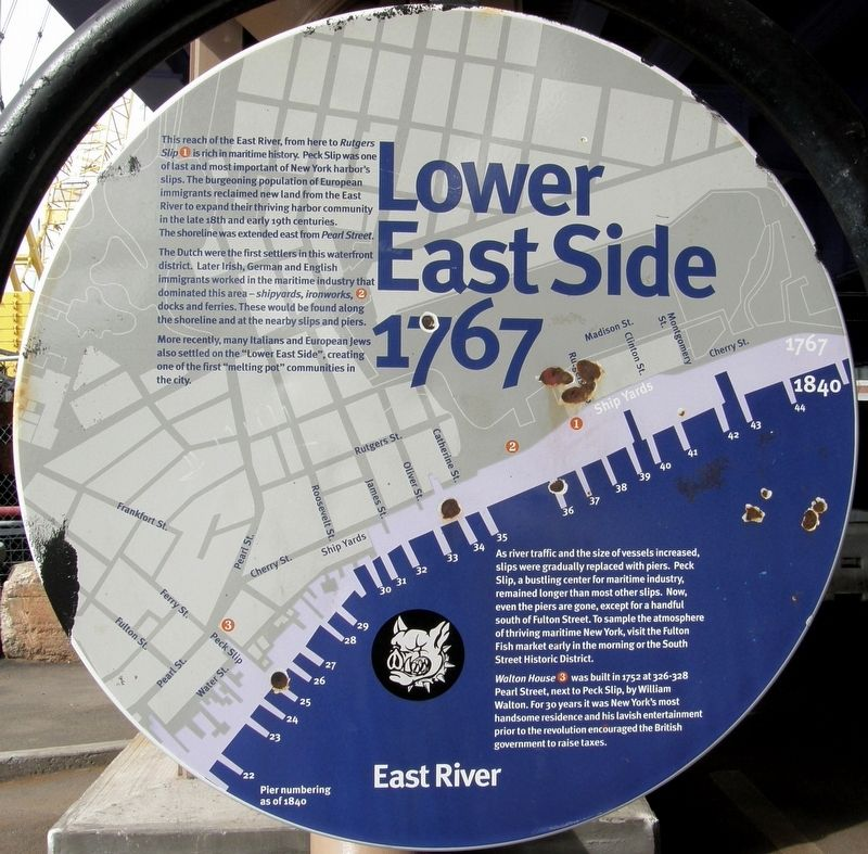 Lower East Side – 1767 Marker image. Click for full size.