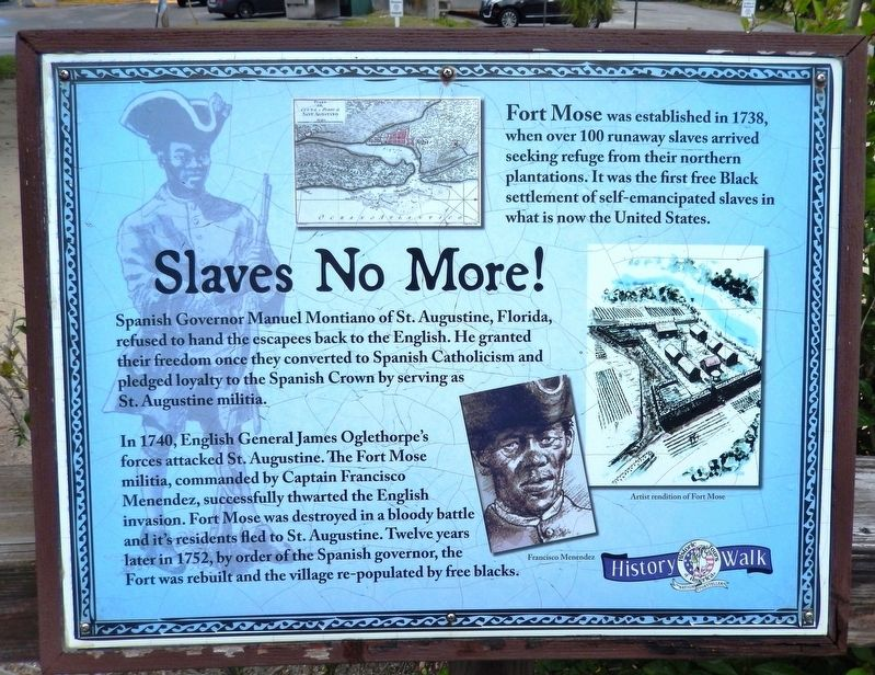 Slaves No More Marker image. Click for full size.