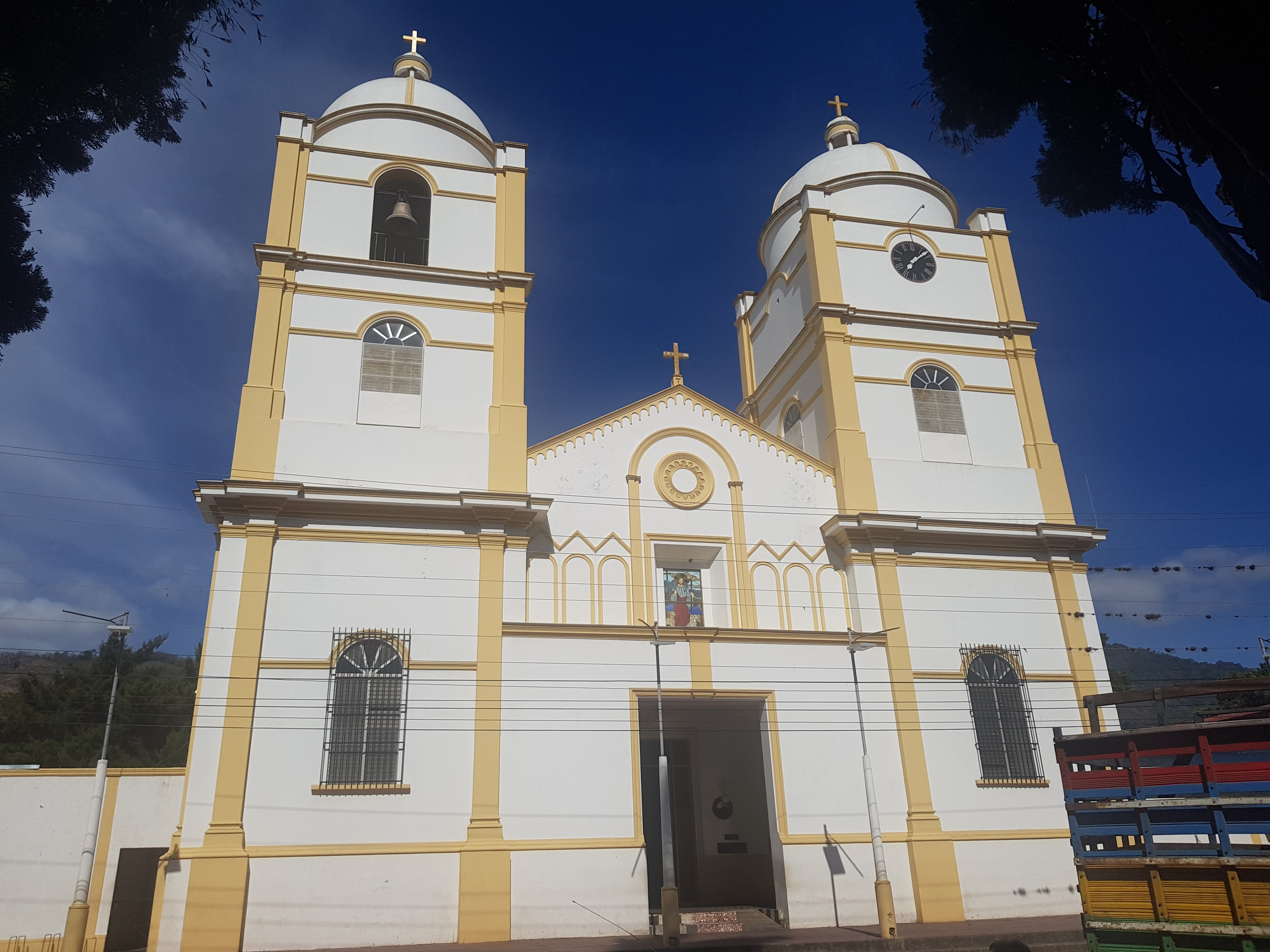 The Cathedral of Jinotega Marker