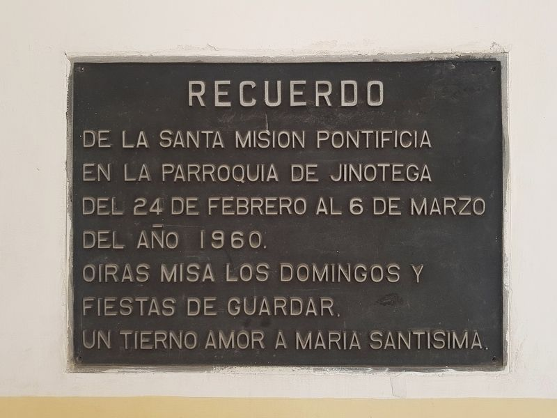 An additional Cathedral of Jinotega Marker image. Click for full size.