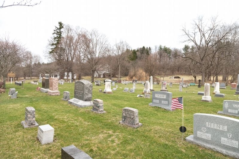 Ira Cemetery, Bath Township Ohio image. Click for full size.