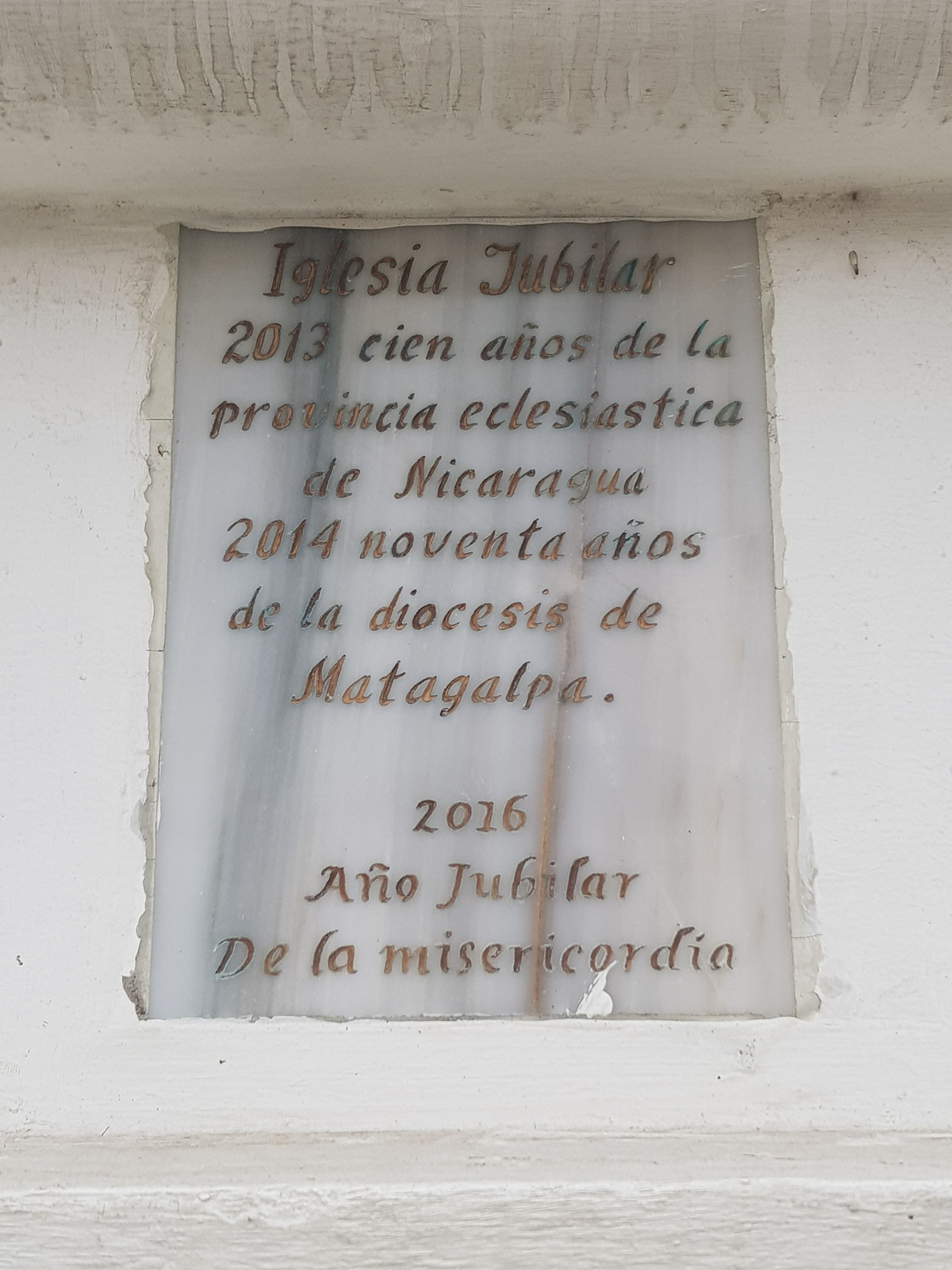 The Cathedral of Matagalpa Marker