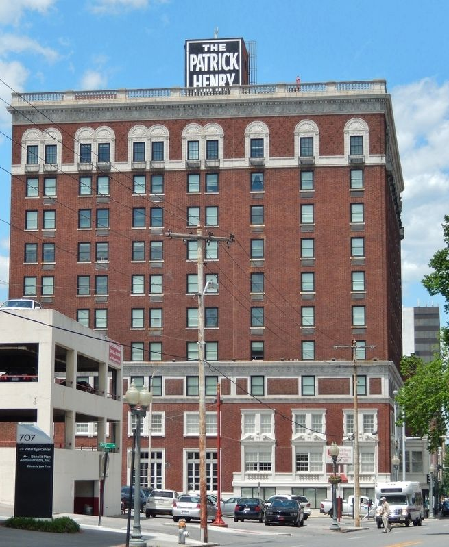 The Patrick Henry<br>(<i>south side view from South Jefferson Street</i>) image. Click for full size.