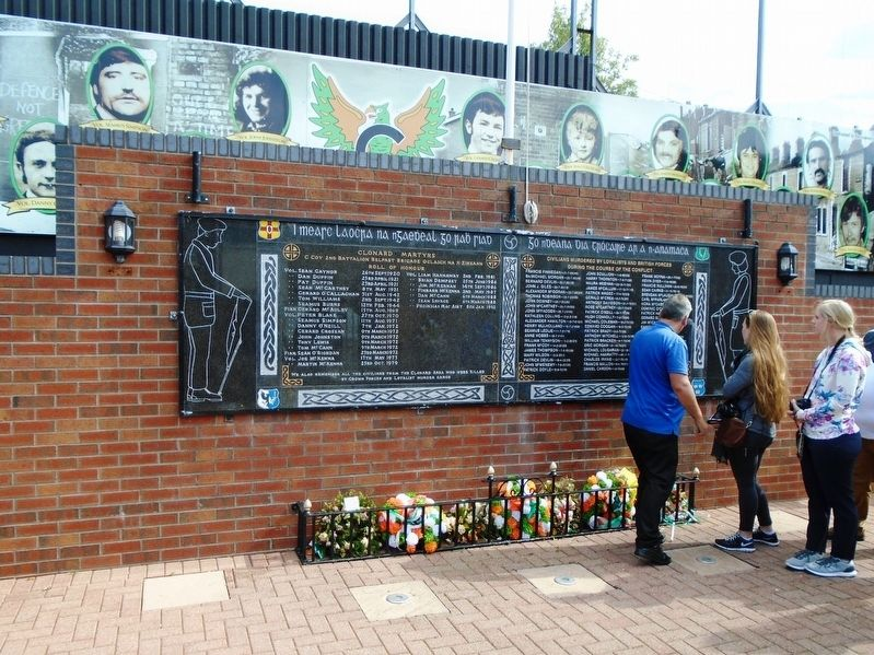 Clonard Martyrs Memorial image. Click for full size.