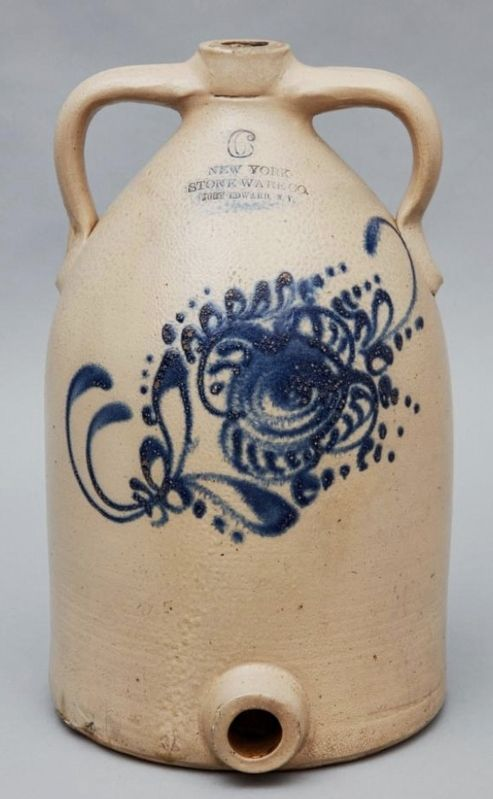 Fort Edward Stoneware image. Click for full size.