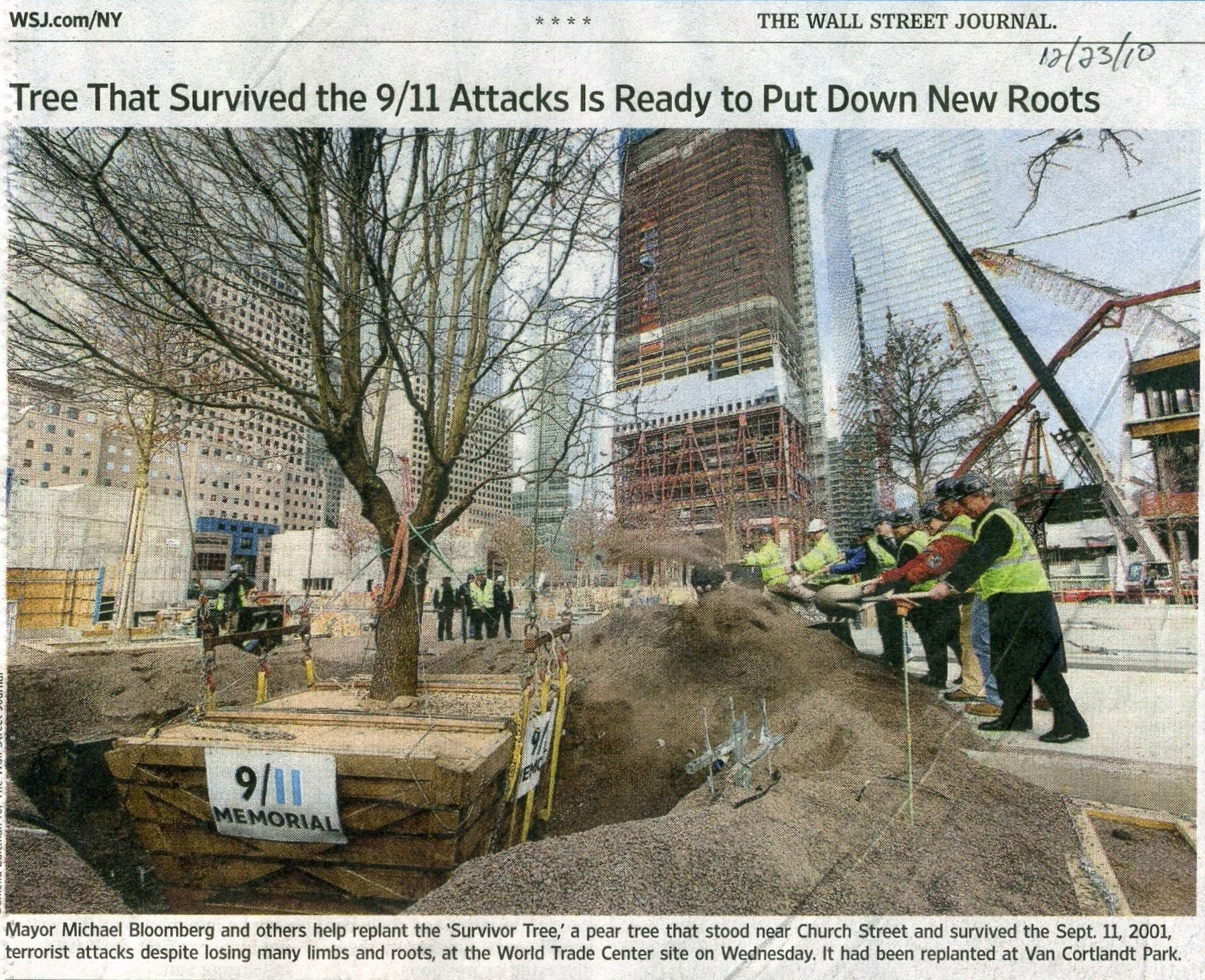 Wall Street Journal, December 23, 2010 image. Click for full size.
