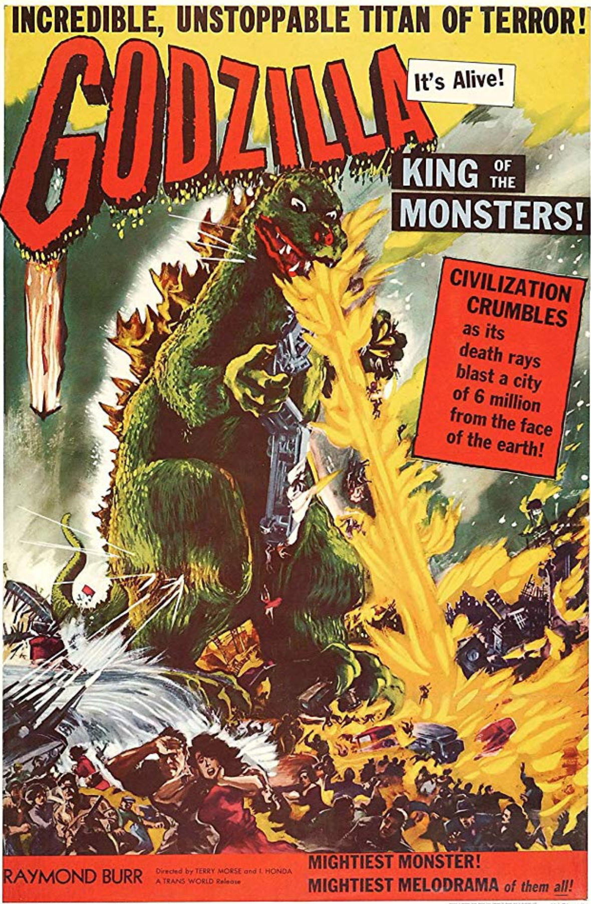 Godzilla Movie Poster, 1956