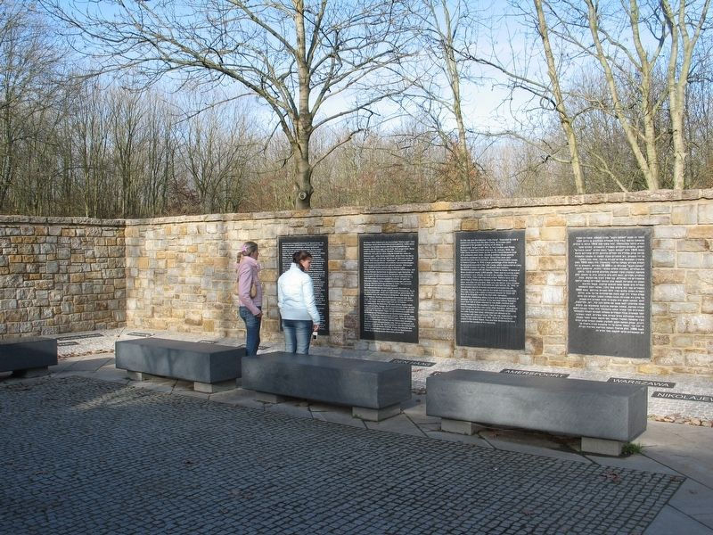 Little Camp (Buchenwald Concentration Camp) English Marker image. Click for full size.