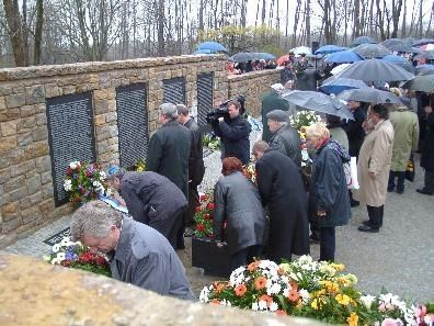Little Camp (Buchenwald Concentration Camp) Memorial Dedication image. Click for full size.