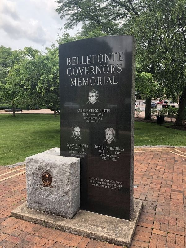 Bellefonte Governors Memorial image. Click for full size.