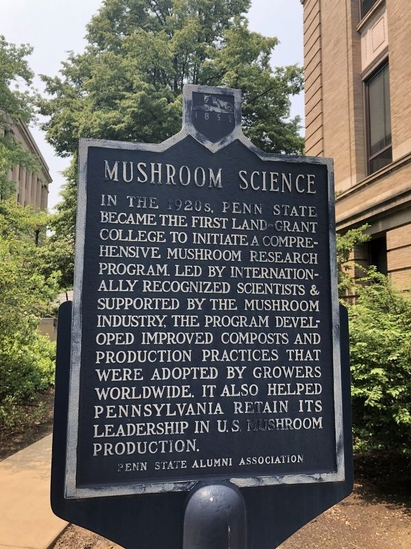 Mushroom Science Marker image. Click for full size.