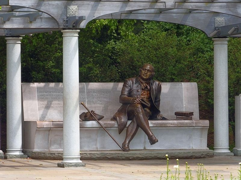 George Mason Memorial image. Click for full size.