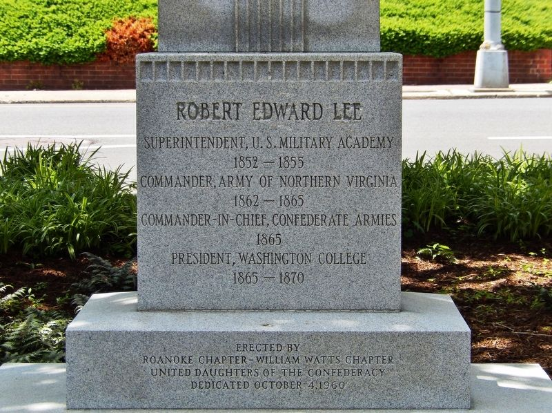 Robert Edward Lee Marker image. Click for full size.