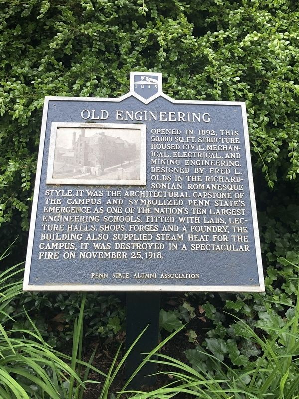 Old Engineering Marker image. Click for full size.
