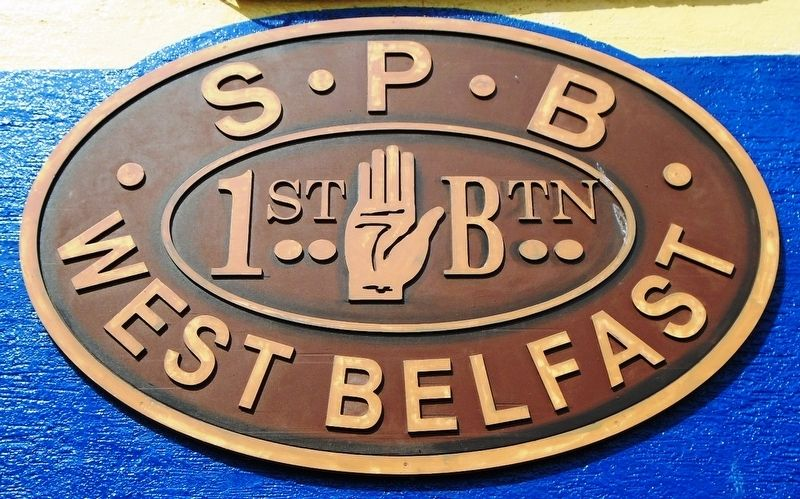 Shankill Protestant Boys Flute Band Emblem image. Click for full size.
