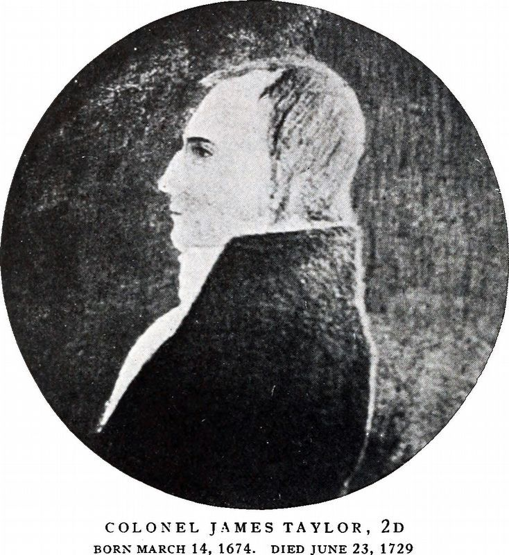 Colonel James Taylor 2d image. Click for full size.