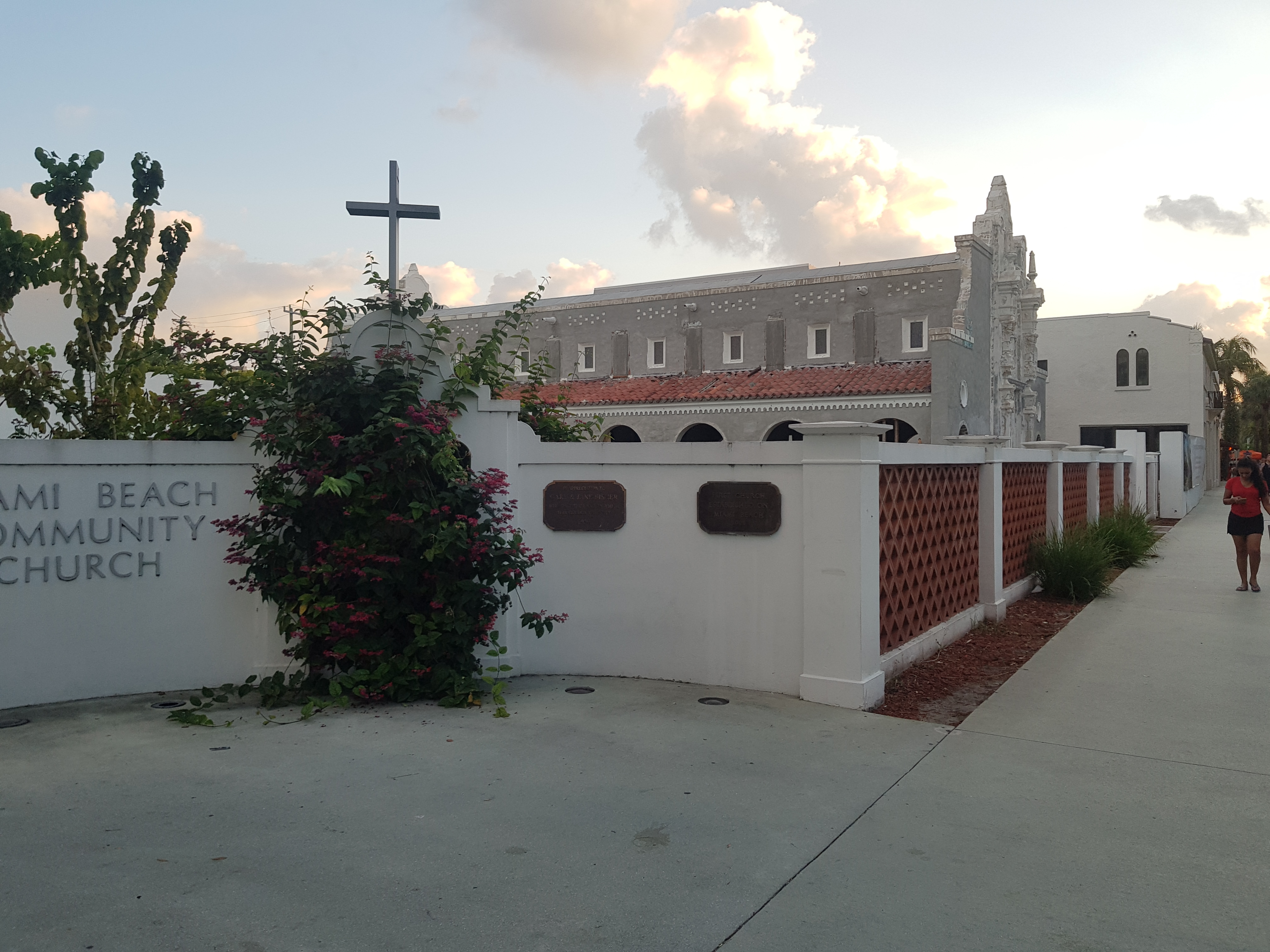 First Church on Miami Beach Marker