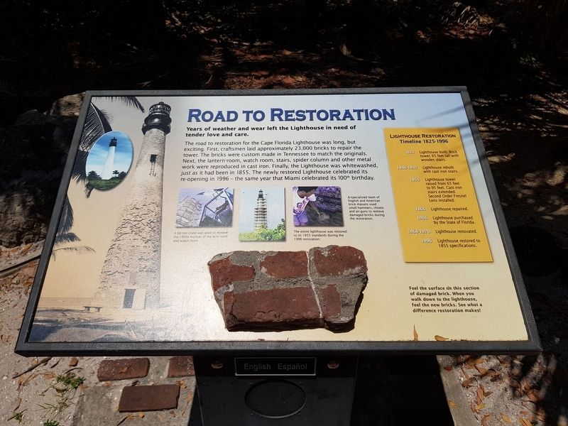 Road to Restoration Marker image. Click for full size.