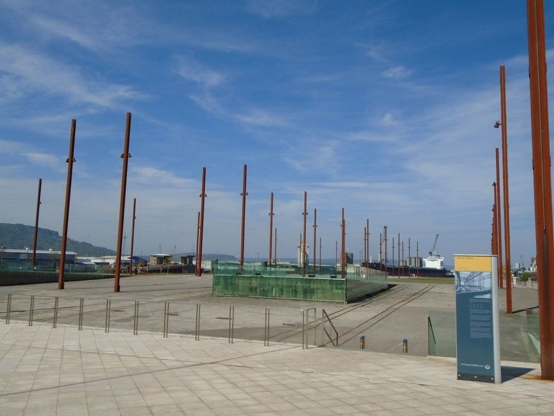 Olympic Slipway and Marker image. Click for full size.