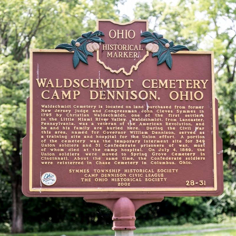Waldschmidt Cemetery Marker image. Click for full size.