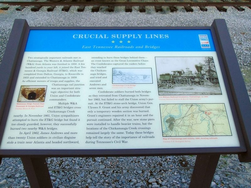 Crucial Supply Lines Marker image. Click for full size.