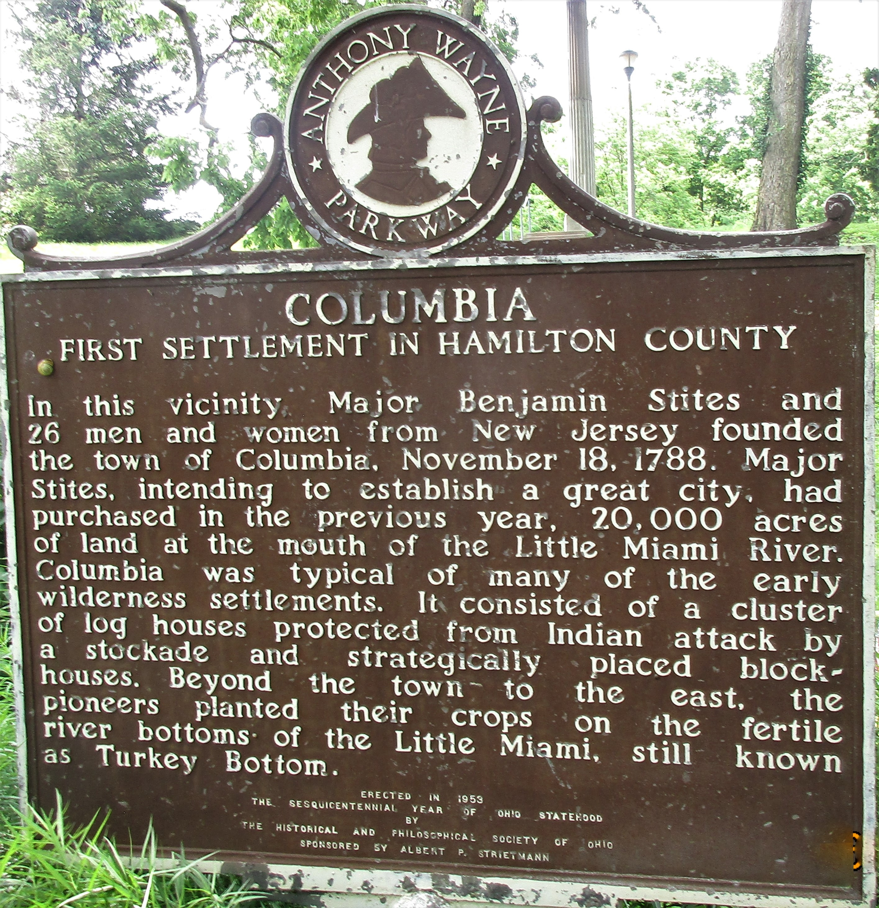 Columbia Marker