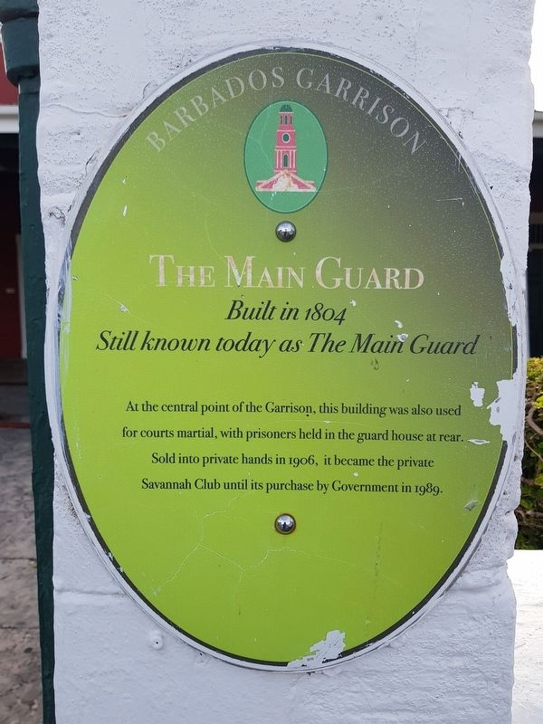 The Main Guard Marker image. Click for full size.