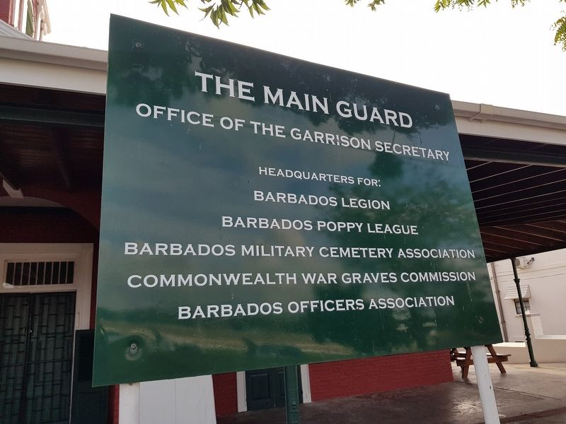 Additional Main Guard signage image. Click for full size.