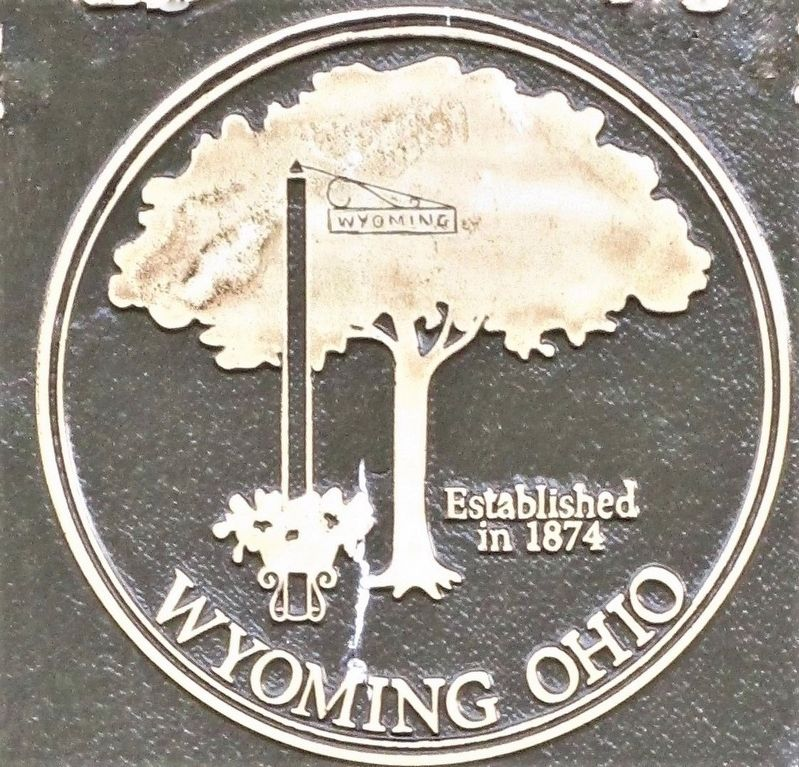 Wyoming Avenue Business District Marker image. Click for full size.