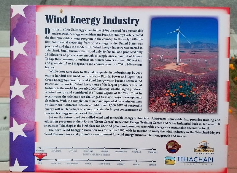 Wind Energy Industry Marker image. Click for full size.