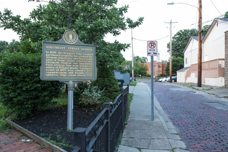 Southgate Street School Marker image. Click for full size.